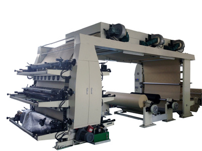 High Quality Stack Flexo Printing Machine