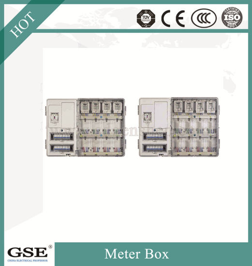 Single Phase Sixteen Position Electric Meter Box with Main-Control Box