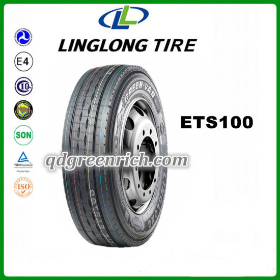 Thailand China Manufacturer Tyre with Good Price Steer Pattern 315/70r22 5  Kts300 for Linglong Leao Brand Truck Tires