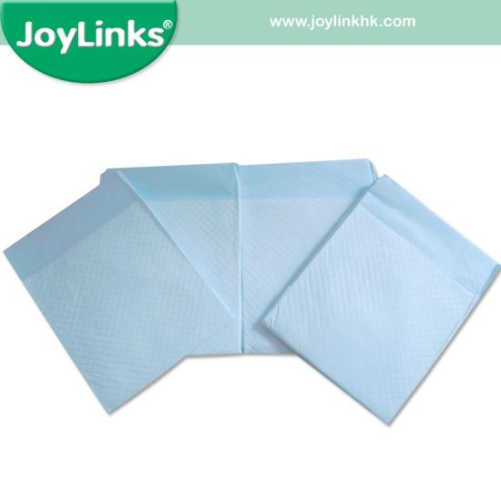 Nonwoven Topsheet Disposable Incontinence Underpads for Adult and Hospital pictures & photos