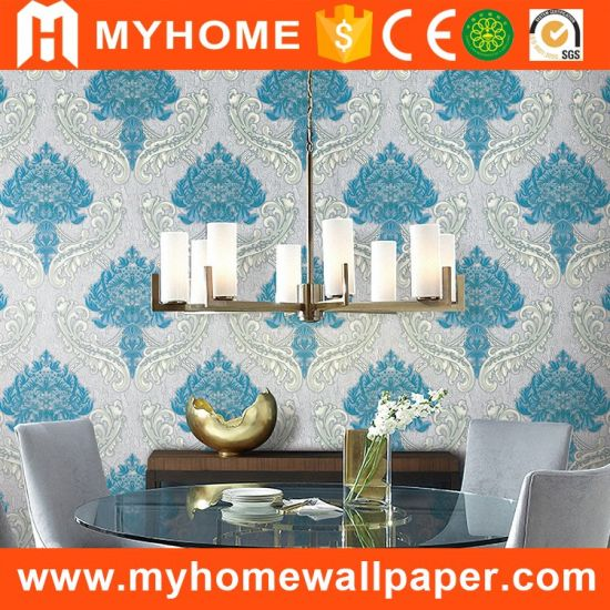China Manufacturer Beautiful Interior Living Room Wallpaper China