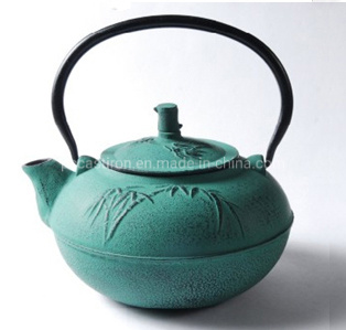 World Market Hot Sale Cast Iron Tea Kettle 0.8L Traditional