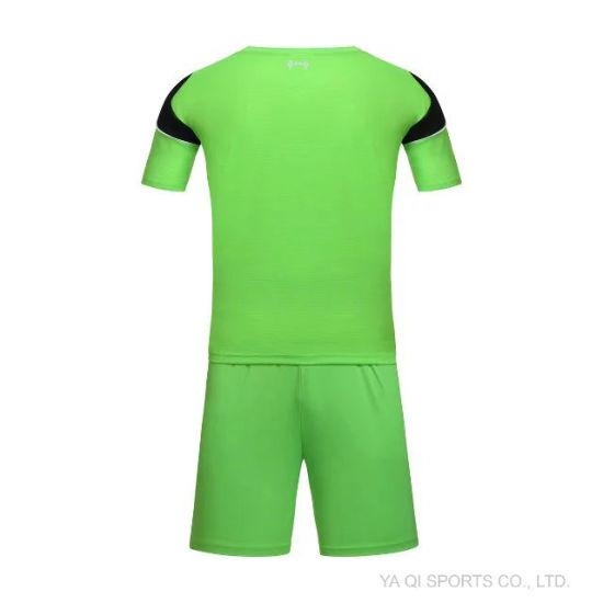 f0eaff7622b Custom Sport Wear, Top Quality Soccer Jersey 100% Polyester Customized for Football  Teams Uniform