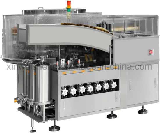 Vertical Ultrasonic Automatic Washing Machine for Ampoules (Pharmaceutical machinery) (Qcl100) pictures & photos