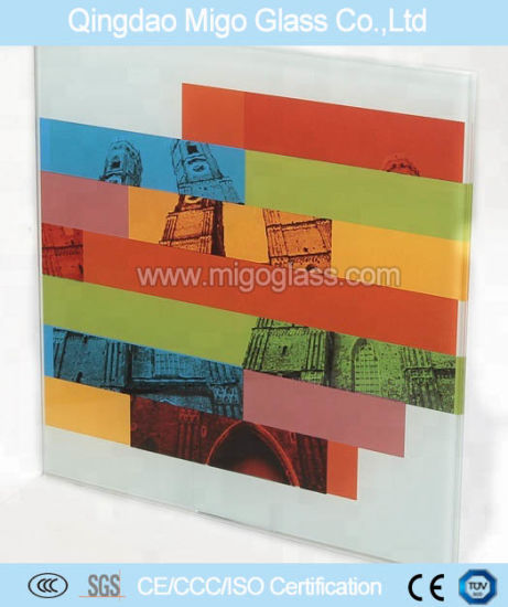 5mm to 19mm Silkscreen Printed Tempered Glass