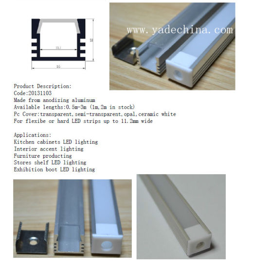 Top Selling Products Flanged and Recessed Linear LED Aluminium Profile pictures & photos