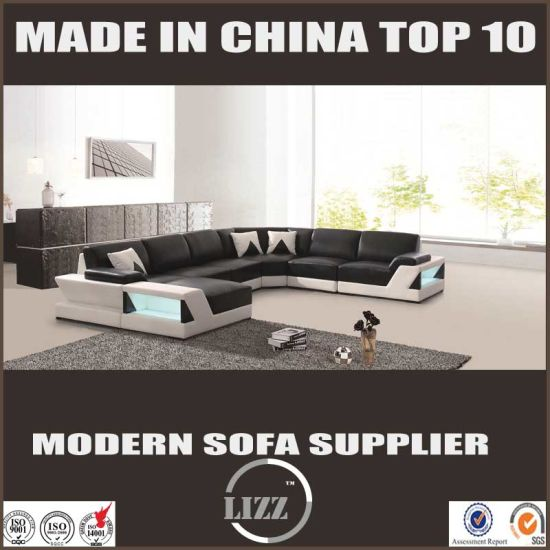 Modern 2017 Style U Shape Living Room Sofa pictures & photos