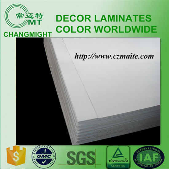 Flat Plain White High Pressure Laminate pictures & photos