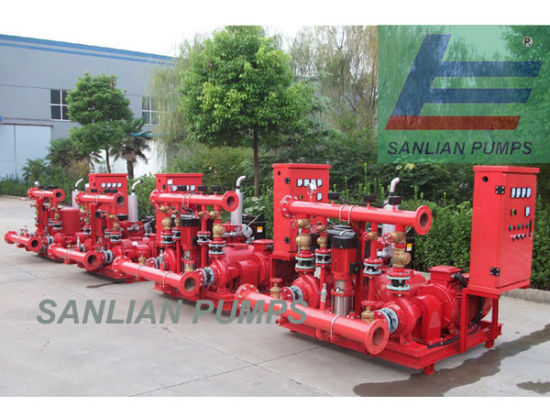 Fire Water Centrifugal Pump System pictures & photos