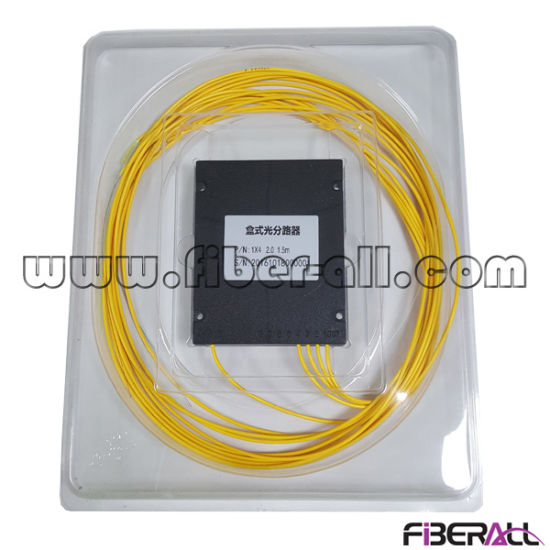 1X4 Fiber Optical PLC Splitter with ABS Box pictures & photos