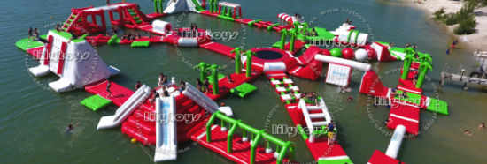 New Design 0.9mm PVC Floating Inflatable Water Game Park for Lake pictures & photos