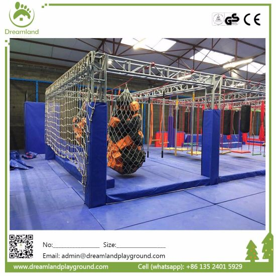 Cannonball Alley Ninja Warrior Obstacle Course for Kids pictures & photos
