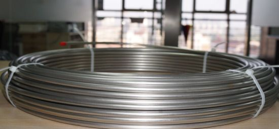 Super Long Coiled Stainless Steel Tube in Bright Annealed pictures & photos
