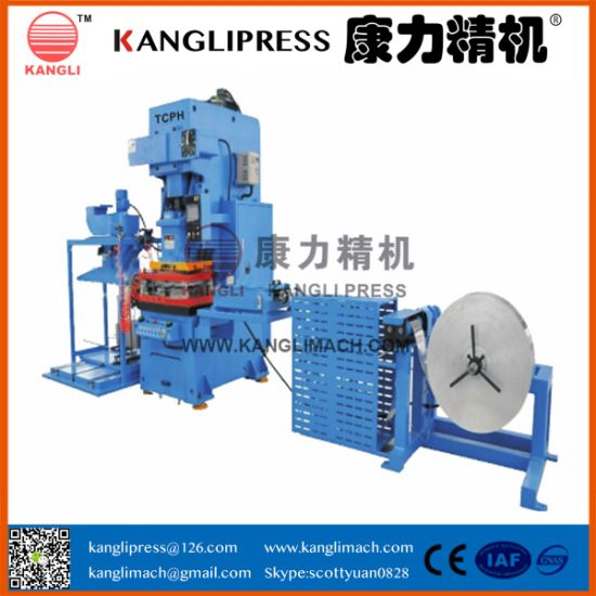 Automatic High Precision Air Conditioner Fin Stock Punching Press
