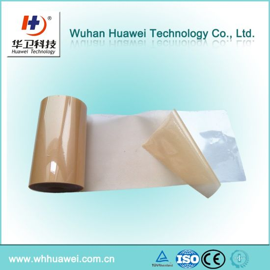 Medical Skin Color Mirco-Perforated PE Material. PE Material for Band Aid