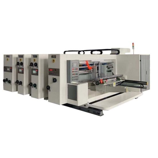Carton Printing and Slotting Machine