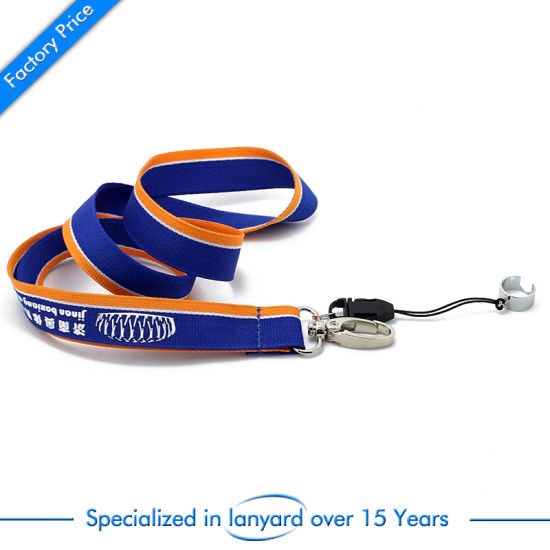 Wholesale Custom China Newest Polyester Lanyards with Buckle pictures & photos