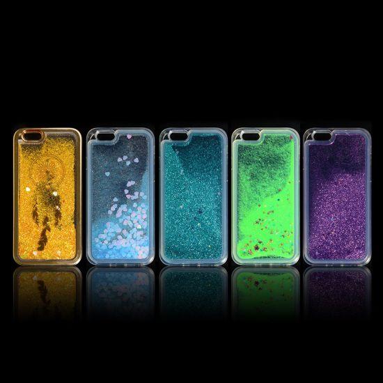 Hight Quality Soft Liquid Transparent Mobile Phone Case for iPhone 7 7 Plus