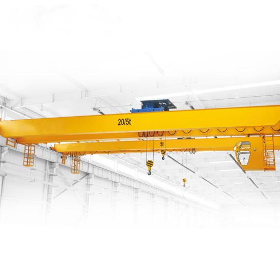 Industrial Large-Tonnage Electric Double-Beam Overhead Crane Used in Warehouse Workshop