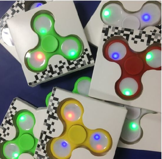LED Hand Spinner EDC Spinner with LED Lights pictures & photos