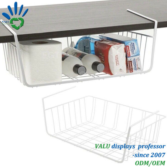 China Under Shelf Table Storage Basket