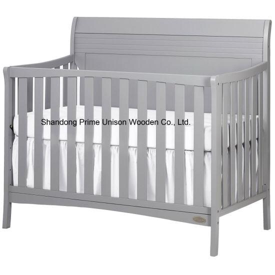 Adjustable Wood Baby Crib