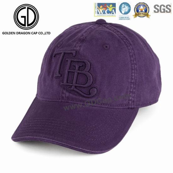 f1f24204b29 China 2016 Customized Newest Korean Purple Cotton Baseball Cap with ...