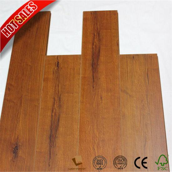 China Factory Non Slip Crystal Country Oak Laminate Flooring China