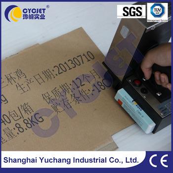 Cycjet Alt360 Wooden Panel Marking Machine/Handheld Batch Coding  Machine/Handjet Portable Printer
