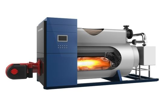 China Horizontal Hot Water Boiler with Copper Heat Exchanger - China ...