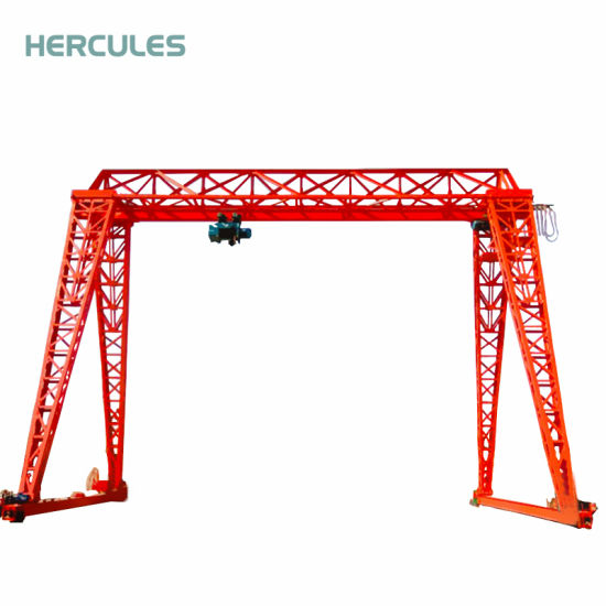32t Gantry Crane Building Hoisting Machine Crane pictures & photos