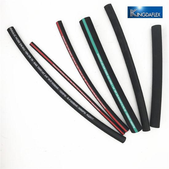 China Kingdaflex Hydraulic Fluids Steel Reinforced Hydraulic Hose