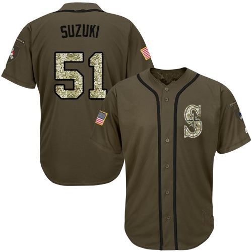 4581747eef8 China Men Women Youth Mariners Jerseys 51 Ichiro Suzuki Baseball ...