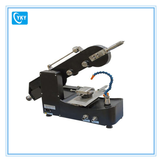 China Laboratory Small Scale Diamond Wire Cutting Machine/Lab ...
