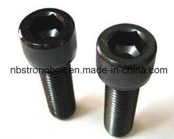 DIN912 Hex Socket Head Cap Screw with Grade 12.9 Black pictures & photos
