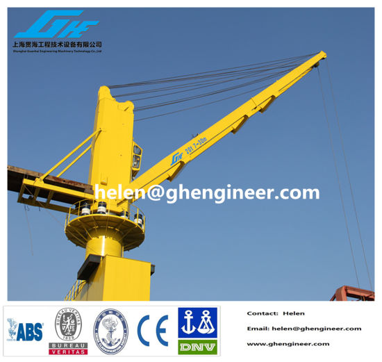 20t Heavy Cargo/Container Lifting and Rail Mounted Port Crane pictures & photos