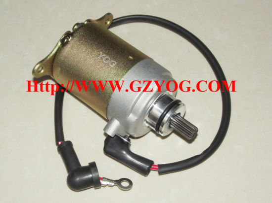 Yog Motorcycle Spare Parts Engine Motor Starting Moto Honda Wave Cub Biz YAMAHA En125hu Crypton Cg Starter pictures & photos