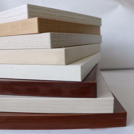 Colorful Melamine Laminated Plywood Board/Melamine Film Faced Plywood/Melamine Cabinets Board