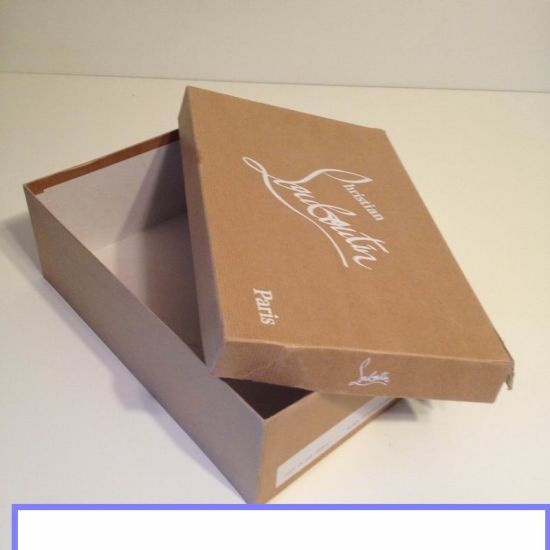 Flat Pack Shoe Box Templates Carton Packing For