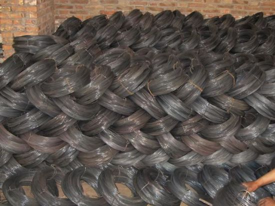 High Quality Black Annealed Iron Wire Binding Wire for Constrution 1.25mm 0.8mm 18guage 20guage pictures & photos