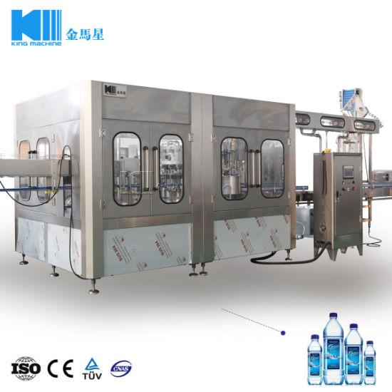 Bottled Water No Label Filling Station 2016 China Hot Sale Bottled Water Production Line or Filling Machine