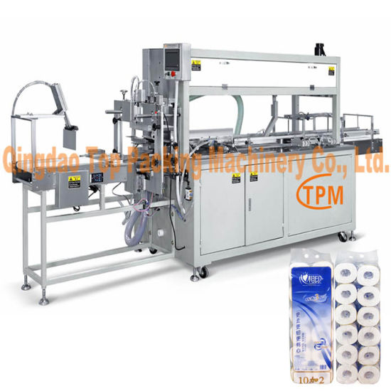 Toilet Tissue Paper Bundler Packaging Equipment pictures & photos