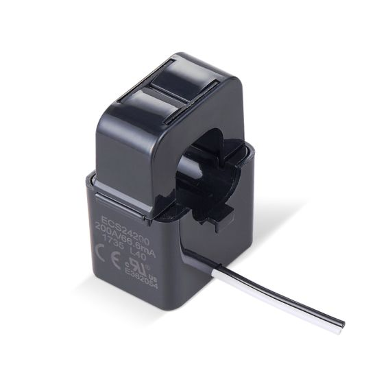 200A 66.6mA Split Core Current Transformer for Energy Management System