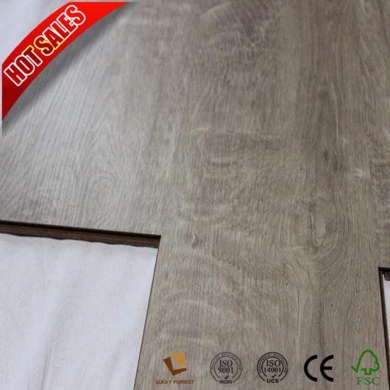 China Cheap Price Hand Scraped Composite Laminate Flooring China