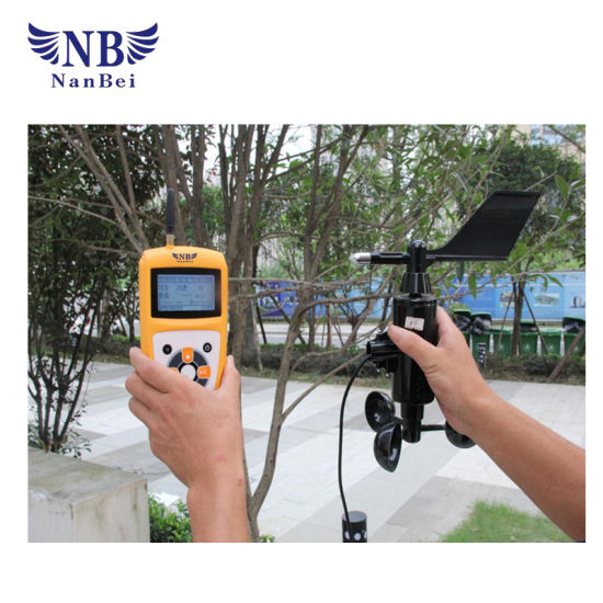 Field Handheld Wind Speed Meter with Ce