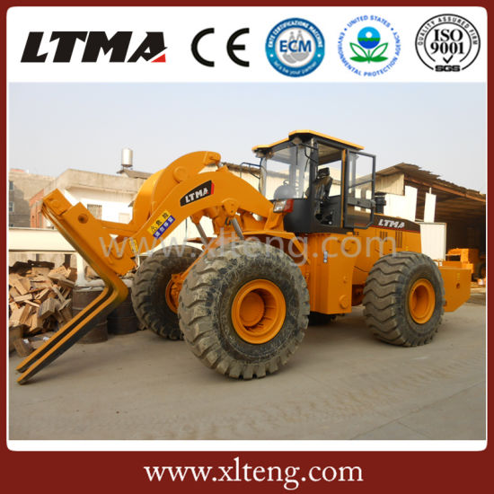 Ltma New Design Forklift Loader 22 Ton Forklift Wheel Loader pictures & photos