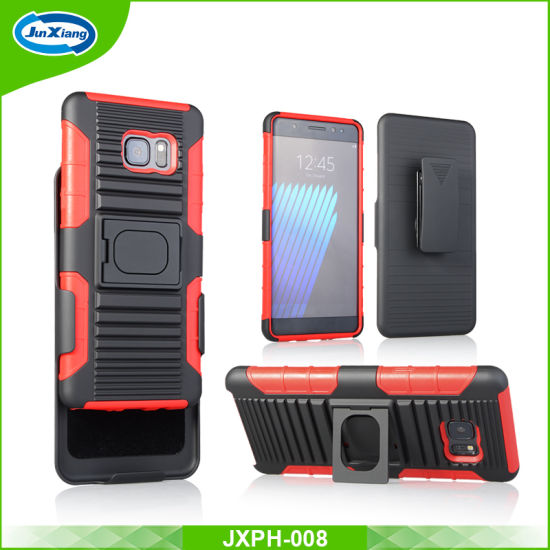 Ring Armor Mobile Phone Case for Samsung Note7