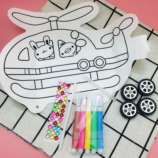 DIY Baby Graffiti Inflatable Toy Gift Creative Painting and Drawing