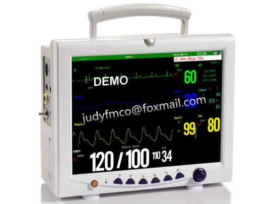 ICU Patient Monitor Multi-Parameter Patient Monitor Ce Isoapproved pictures & photos
