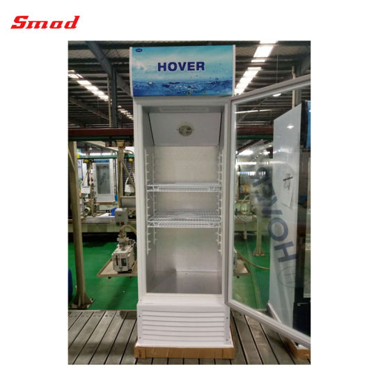 368L Vertical Glass Display Refrigerated Showcase Cooler pictures & photos